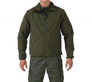 Mens 5.11 Tactical Valiant Softshell Jacket   Sheriff Green