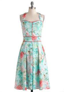 Garden Arty Dress  Mod Retro Vintage Dresses