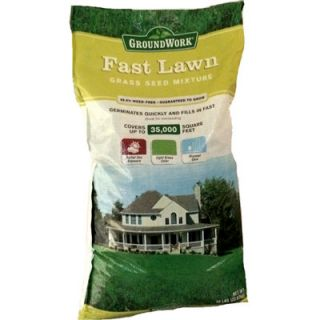 GroundWork Fast Lawn Mix , 50 lb.