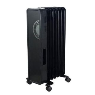 Cuori 1500 Watt Electric Oil Filled Radiant Portable Heater   Glass Faced HD940 A7E