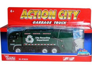 Daron Worldwide Trading  RT38330R Action City Recycling Truck