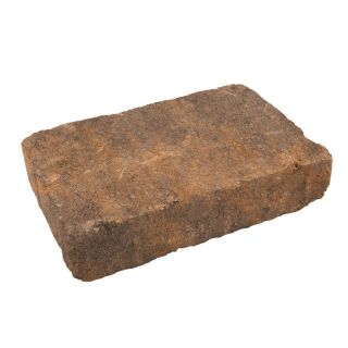 Harvest Rectangle Concrete Paver (Common: 7 in x 11 in; Actual: 7.1 in x 10.6 in)