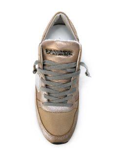 Philippe Model Glitter Panel Sneakers