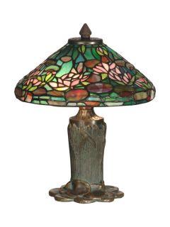Dale Tiffany TT10334 Antique Bronze / Verde