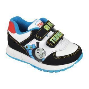 Thomas & Friends Toddler Boys Thomas Character Shoe   White/Black