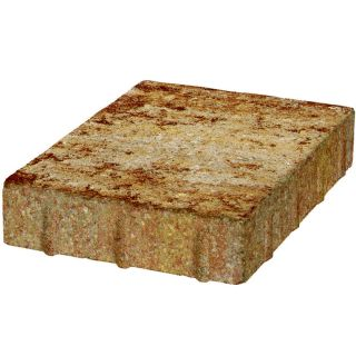 Keystone Sand Tan Rectangle Concrete Paver (Common: 9 in x 12 in; Actual: 8.438 in x 11.921 in)