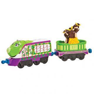 Tomy Chuggington StackTrack Camouflage Koko with Monkey Car   Toys