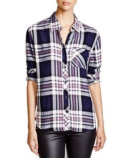BeachLunchLounge Leigh Plaid Shirt