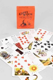 Gypsy Witch Fortune Telling Card Deck