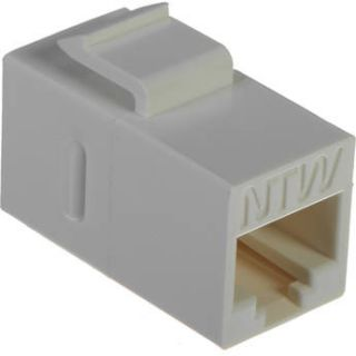 NTW Cat 6A Keystone Coupler (White) 3KY FF/C6S WH