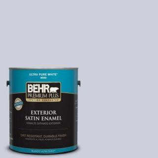 BEHR Premium Plus 1 gal. #640E 3 Simplicity Satin Enamel Exterior Paint 905001