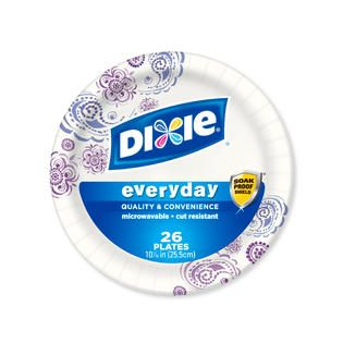 Dixie Paper Plates 8 1/2 Inch 48 C   Food & Grocery   Paper Goods