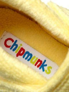 Chipmunks Girls tweet the chick slipper Yellow