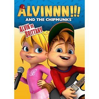 ALVIN AND THE CHIPMUNKS: ALVIN VS. BRITTANY DVD