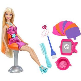 Barbie Color Stylin Hair Doll    Mattel