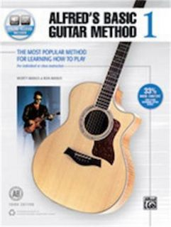 Alfred Alfred Alfreds Basic Guitar Method 1 (Third Edition)Book