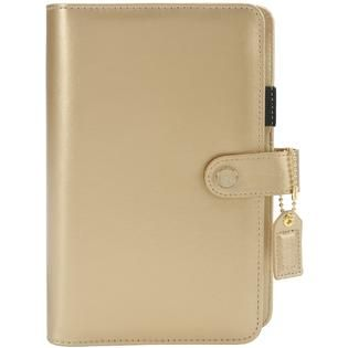 Color Crush Faux Leather Personal Planner Kit 5.5X8 Gold alternate