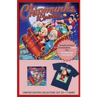 Christmas With The Chipmunks (CD + T Shirt) ( Exclusive)