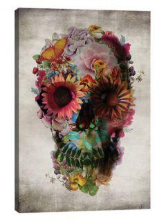 Skull #2 by Ali Gulec (Canvas) by iCanvas