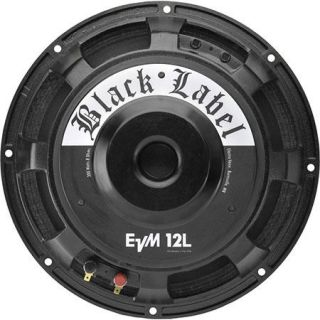 Electro Voice EVM12L BlackLabel Zakk Wylde Signature 12 Guitar Speaker, Single F.01U.273.861