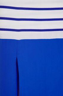 Stella striped silk maxi dress  Richard Nicoll