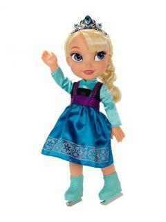 Disney Frozen Elsa Ice Skating Toddler Doll by Jakks Pacific