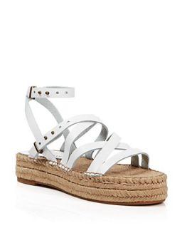 Splendid Open Toe Flat Platform Espadrille Sandals   Erin