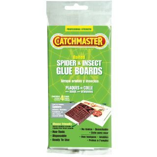 CATCHMASTER Glue Trap, Used For Trapping Spiders, Crickets and Roaches   Insect Traps and Flyswatters   5YAY3|724