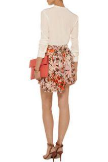 Floral print chiffon mini skirt  ENZA COSTA