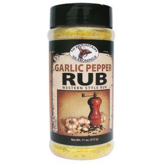 Hi Mountain Garlic Pepper Rub 359