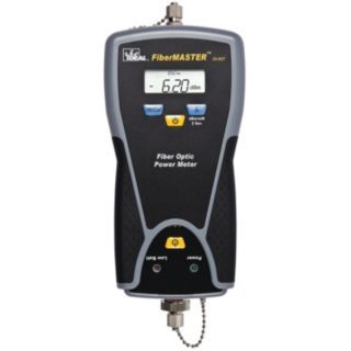 IDEAL ST, SC, FC Power Meter, Measures Light Source (Not Included)   Fiber Optic Cable Testing Instruments   6KJU2 33 927