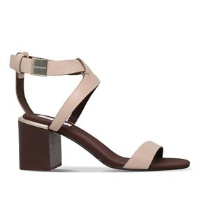SEE BY CHLOE   Eva 60 strappy heeled leather sandals