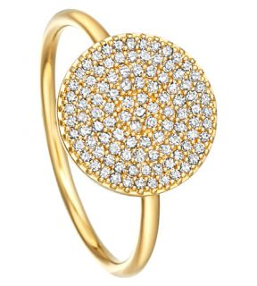 ASTLEY CLARKE   Icon 14ct yellow gold ring