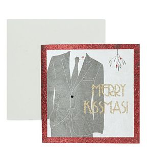 FIVE DOLLAR SHAKE   Merry Kissmas Christmas card