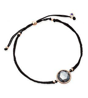 ASTLEY CLARKE   Hematite Polka 18ct rose gold plated bracelet