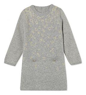 CHLOE   Leopard spot knitted dress 6 36 months