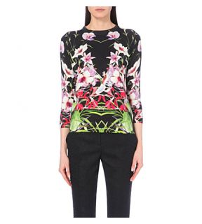TED BAKER   Tropical floral patterned jumper