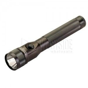 Streamlight 75812 LED Flashlight Stinger DS C4 Rechargeable with DC Steady Charge   Black