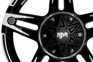 "Red Dirt Road RD03209054573+12C   5 x 114.3mm Single Bolt Pattern Chrome 20"" x 9"" RD03 Trek Wheels   Alloy Wheels & Rims"