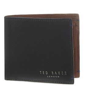 TED BAKER   Colourblock leather billfold wallet