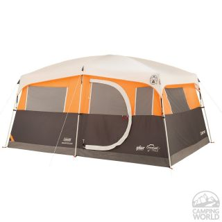 Jenny Lake 8 Person Fast Pitch Cabin Tent with Closet   Coleman 2000019796   Family Tents