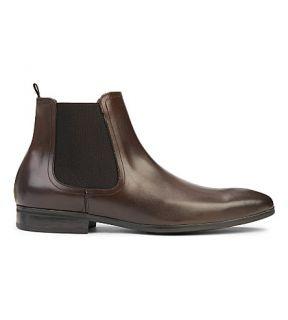KURT GEIGER LONDON   Gerald leather Chelsea boots