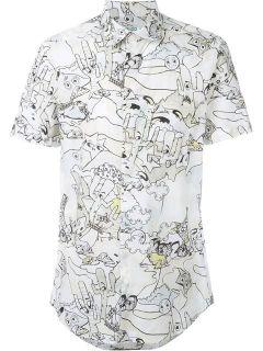 Kenzo 'cartoons' Shirt   Noténom