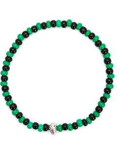 Luis Morais Mini Lady Bug Beaded Bracelet