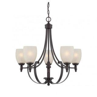 Savoy House Duvall 5 Light Chandelier in English Bronze   1 621 5 13