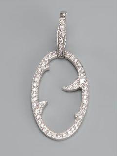 Stephen Webster Diamond 'oval Thorn' Earrings    Jewellery Atelier