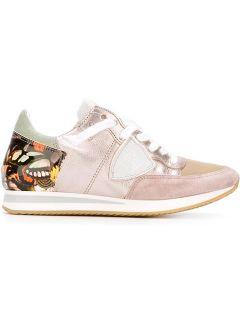 Philippe Model Contrast Heel Counter Sneakers    Gisa
