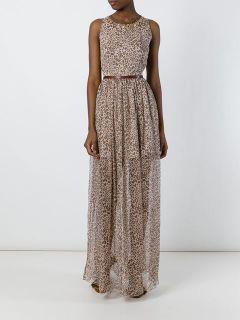 Blugirl Leopard Print Evening Dress   Spinnaker Sanremo
