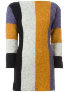 Jean Paul Gaultier Vintage Colour Block Sweater Dress   House Of Liza