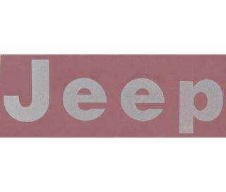 Jeep   Jeep Logo Decal, Silver 5AS15KA2